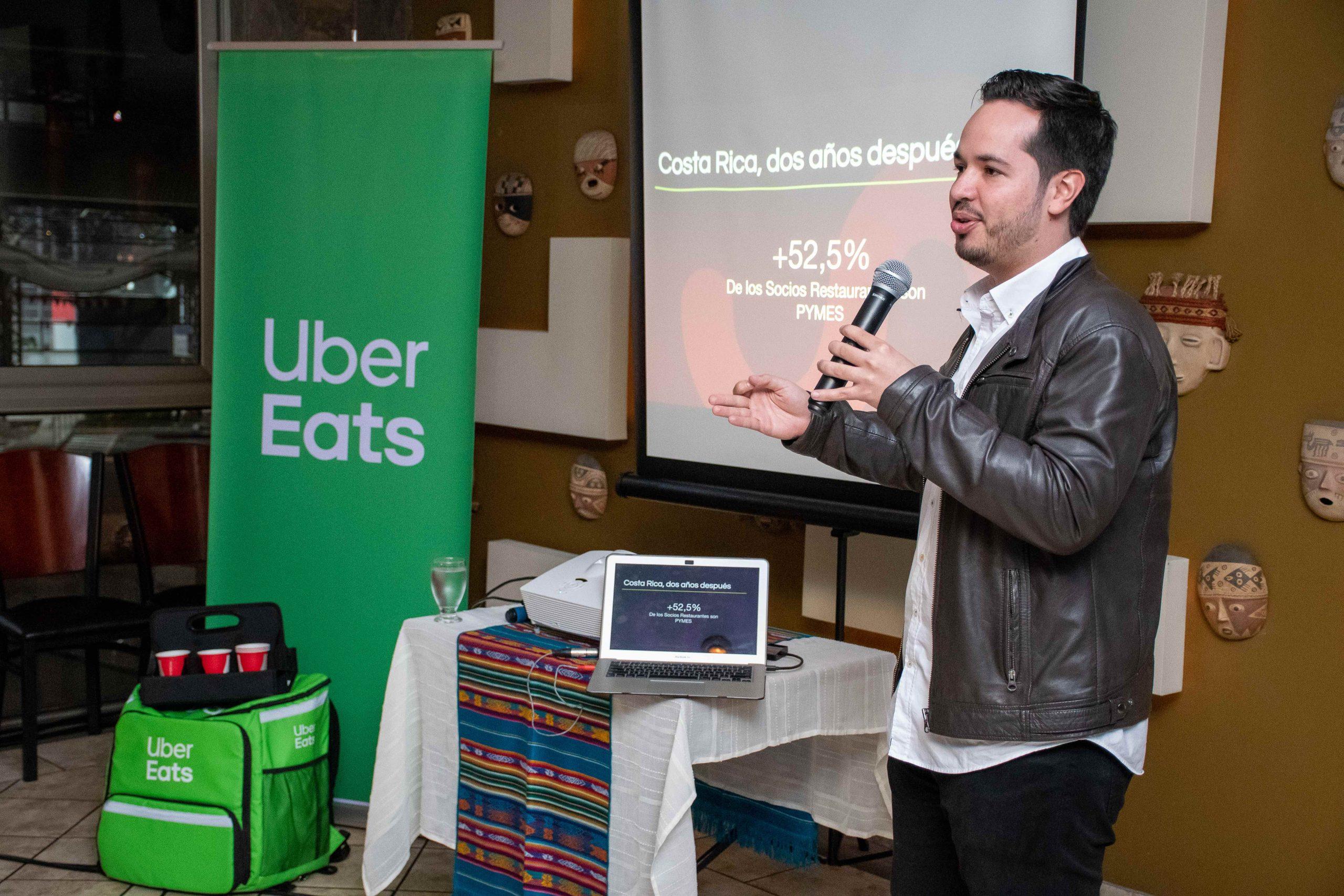 La aplican de entrega de comida a domicilio celebró su segundo aniversario en Costa Rica. Foto Cortesía